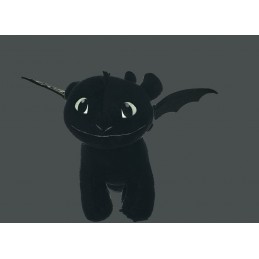 Dragons 3 peluche Toothless...