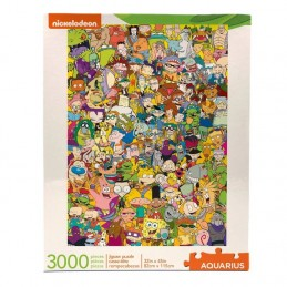 Nickelodeon puzzle Cast...