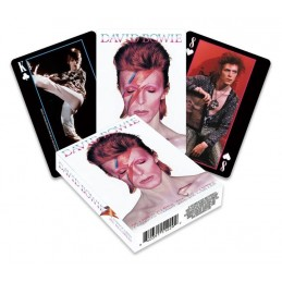 David Bowie jeu de cartes à...