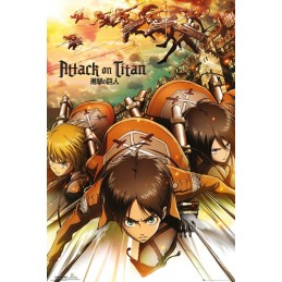 Attack on Titan posters...