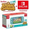 Nintendo switch lite turquoise + animal crossing new horizons